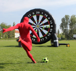 Fussball Dart Firmenfeier